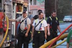 House Fire, 40-42 West Water Street, US209, Coaldale, 8-4-2015 (540)