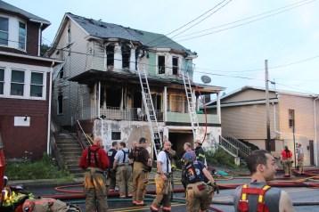 House Fire, 40-42 West Water Street, US209, Coaldale, 8-4-2015 (549)