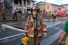 House Fire, 40-42 West Water Street, US209, Coaldale, 8-4-2015 (553)