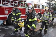 House Fire, 40-42 West Water Street, US209, Coaldale, 8-4-2015 (570)
