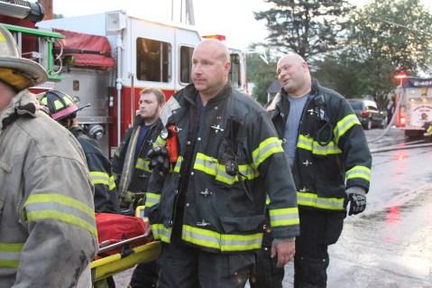 House Fire, 40-42 West Water Street, US209, Coaldale, 8-4-2015 (578)