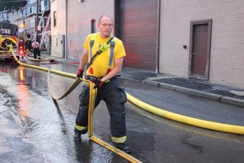 House Fire, 40-42 West Water Street, US209, Coaldale, 8-4-2015 (590)