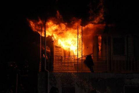 House Fire, 40-42 West Water Street, US209, Coaldale, 8-4-2015 (60)