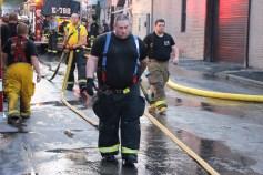 House Fire, 40-42 West Water Street, US209, Coaldale, 8-4-2015 (603)