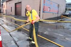 House Fire, 40-42 West Water Street, US209, Coaldale, 8-4-2015 (604)