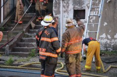 House Fire, 40-42 West Water Street, US209, Coaldale, 8-4-2015 (619)