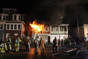 House Fire, 40-42 West Water Street, US209, Coaldale, 8-4-2015 (63)