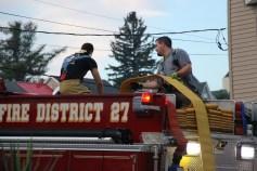 House Fire, 40-42 West Water Street, US209, Coaldale, 8-4-2015 (640)