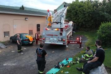 House Fire, 40-42 West Water Street, US209, Coaldale, 8-4-2015 (647)