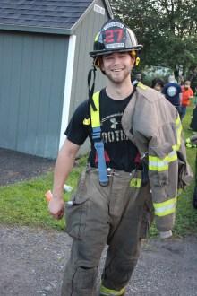 House Fire, 40-42 West Water Street, US209, Coaldale, 8-4-2015 (704)