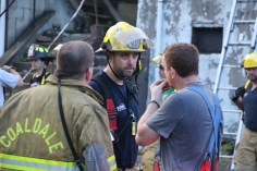 House Fire, 40-42 West Water Street, US209, Coaldale, 8-4-2015 (708)