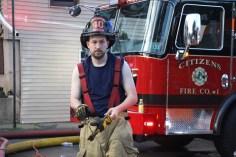 House Fire, 40-42 West Water Street, US209, Coaldale, 8-4-2015 (709)