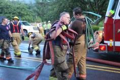 House Fire, 40-42 West Water Street, US209, Coaldale, 8-4-2015 (737)
