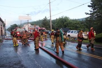 House Fire, 40-42 West Water Street, US209, Coaldale, 8-4-2015 (742)