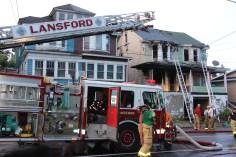 House Fire, 40-42 West Water Street, US209, Coaldale, 8-4-2015 (753)