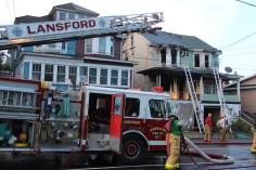 House Fire, 40-42 West Water Street, US209, Coaldale, 8-4-2015 (754)