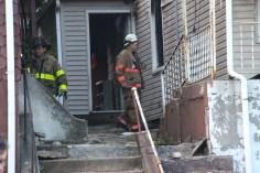 House Fire, 40-42 West Water Street, US209, Coaldale, 8-4-2015 (761)