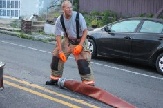 House Fire, 40-42 West Water Street, US209, Coaldale, 8-4-2015 (766)