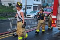 House Fire, 40-42 West Water Street, US209, Coaldale, 8-4-2015 (767)