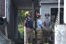 House Fire, 40-42 West Water Street, US209, Coaldale, 8-4-2015 (788)