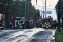 House Fire, 40-42 West Water Street, US209, Coaldale, 8-4-2015 (793)