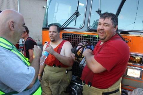 House Fire, 40-42 West Water Street, US209, Coaldale, 8-4-2015 (798)