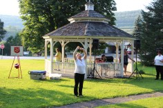 Music In The Park, Salvation Army performs, via Lansford Alive, Kennedy Park, Lansford (18)