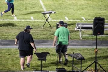 Raider Marching Band during Fall Meet The Raiders, TASD Sports Stadium, Tamaqua, 8-26-2015 (268)