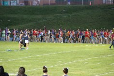 Raider Marching Band during Fall Meet The Raiders, TASD Sports Stadium, Tamaqua, 8-26-2015 (29)