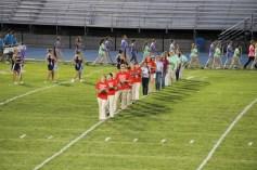 Raider Marching Band during Fall Meet The Raiders, TASD Sports Stadium, Tamaqua, 8-26-2015 (35)