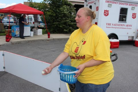 Salvation Army Kidz Karnival, Kids Carnival, Train Station Lot, Tamaqua, 8-4-2015 (31)