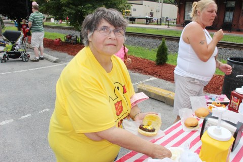 Salvation Army Kidz Karnival, Kids Carnival, Train Station Lot, Tamaqua, 8-4-2015 (9)