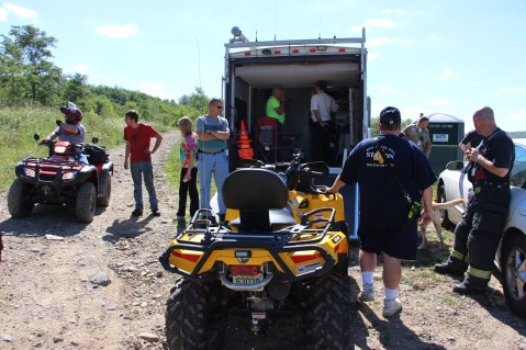 Search for Missing Man, South Ward Mountain, Tamaqua, 8-13-2015 (226)