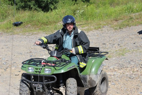 Search for Missing Man, South Ward Mountain, Tamaqua, 8-13-2015 (230)