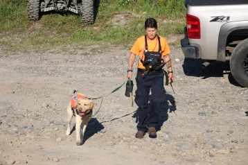 Search for Missing Man, South Ward Mountain, Tamaqua, 8-13-2015 (305)