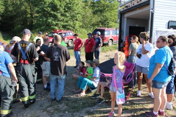 Search for Missing Man, South Ward Mountain, Tamaqua, 8-13-2015 (306)