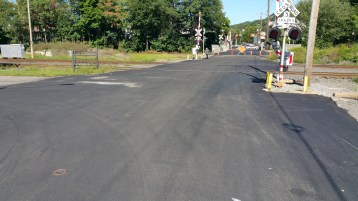 Spruce Street Construction Almost Complete, Tamaqua, 8-21-2015 (1)