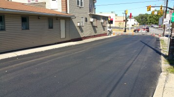 Spruce Street Construction Almost Complete, Tamaqua, 8-21-2015 (10)