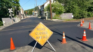 Spruce Street Construction Almost Complete, Tamaqua, 8-21-2015 (17)