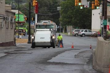 Spruce Street Construction Complete, Tamaqua, 8-21-2015 (13)