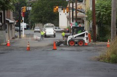Spruce Street Construction Complete, Tamaqua, 8-21-2015 (9)