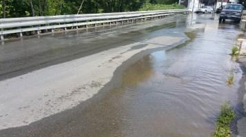 SR309 North to be Closed for Emergency Water Main Repair, Tamaqua, 8-6-2015 (46)