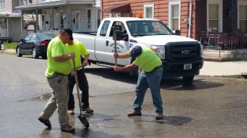 SR309 North to be Closed for Emergency Water Main Repair, Tamaqua, 8-6-2015 (9)
