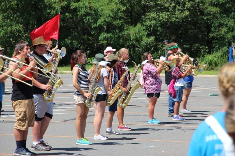 Tamaqua Raider Band Camp, Middle School Parking Lot, Tamaqua, 8-13-2015 (110)