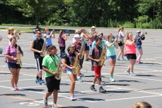 Tamaqua Raider Band Camp, Middle School Parking Lot, Tamaqua, 8-13-2015 (202)