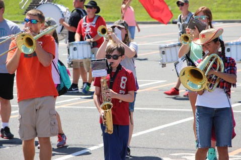 Tamaqua Raider Band Camp, Middle School Parking Lot, Tamaqua, 8-13-2015 (268)