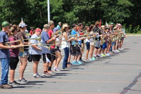 Tamaqua Raider Band Camp, Middle School Parking Lot, Tamaqua, 8-13-2015 (33)
