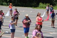 Tamaqua Raider Band Camp, Middle School Parking Lot, Tamaqua, 8-13-2015 (354)