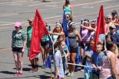 Tamaqua Raider Band Camp, Middle School Parking Lot, Tamaqua, 8-13-2015 (4)