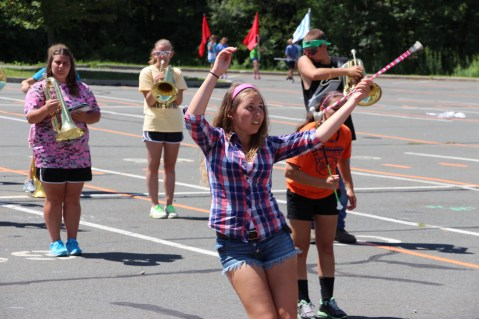 Tamaqua Raider Band Camp, Middle School Parking Lot, Tamaqua, 8-13-2015 (460)